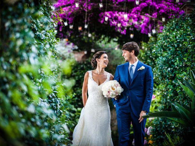 le nozze di Claire e Francesco