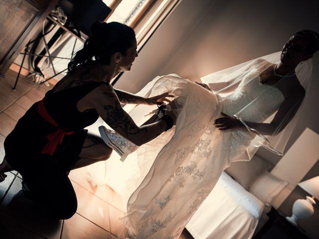 Il matrimonio di Fabrizio e Giada a Sutri, Viterbo 4