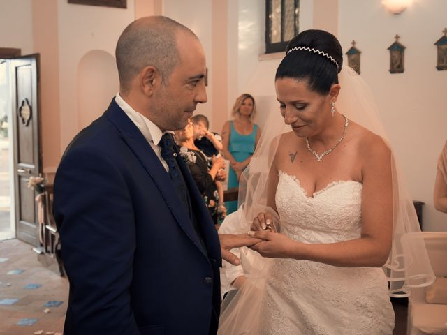 Il matrimonio di Fabrizio e Giada a Sutri, Viterbo 6
