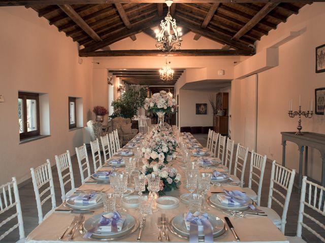 Il matrimonio di Fabrizio e Giada a Sutri, Viterbo 8