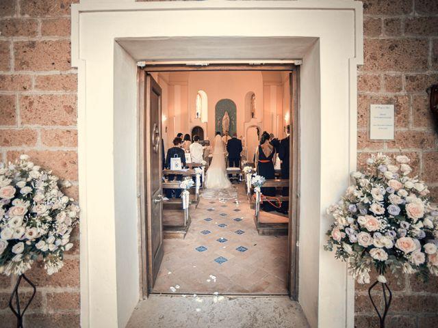 Il matrimonio di Fabrizio e Giada a Sutri, Viterbo 11