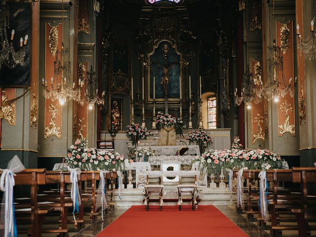 Il matrimonio di Gianluca e Christelle  a Dolceacqua, Imperia 13