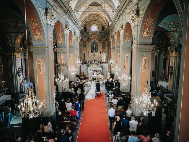 Il matrimonio di Gianluca e Christelle  a Dolceacqua, Imperia 20