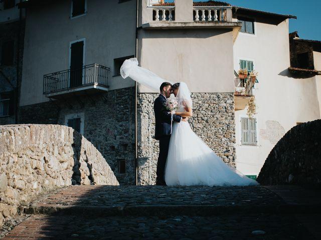 Il matrimonio di Gianluca e Christelle  a Dolceacqua, Imperia 30