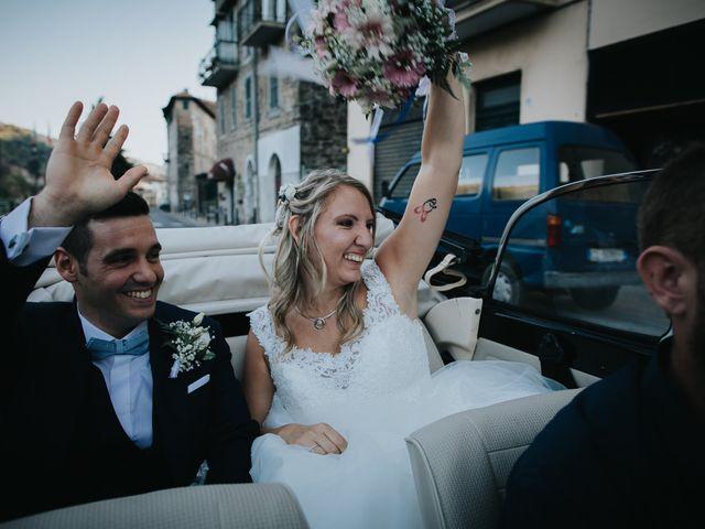 Il matrimonio di Gianluca e Christelle  a Dolceacqua, Imperia 41