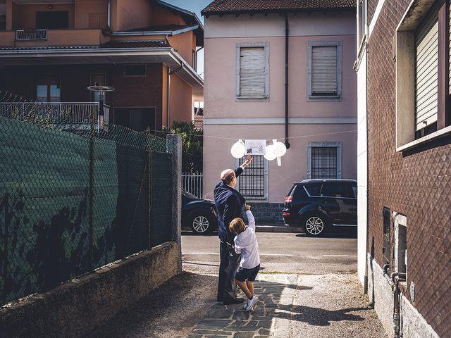 Il matrimonio di Nicolò e Linda a Busto Garolfo, Milano 11