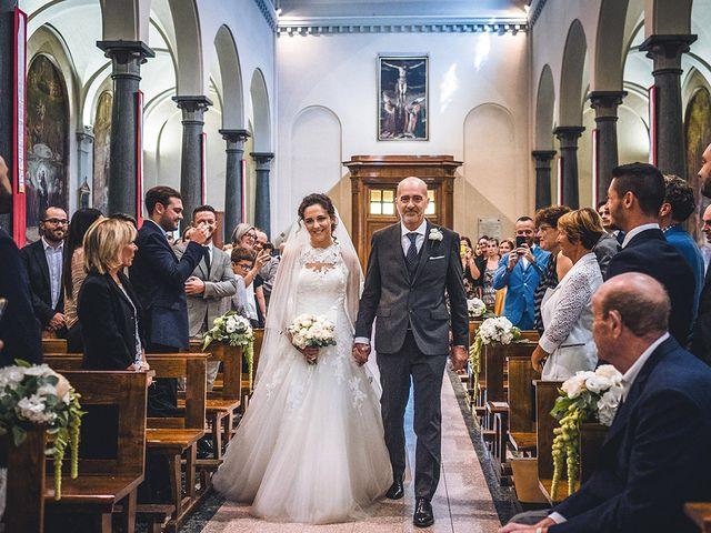 Il matrimonio di Nicolò e Linda a Busto Garolfo, Milano 23