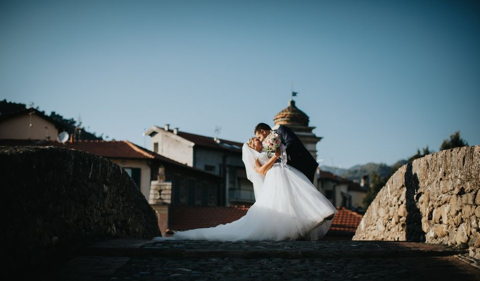 Il matrimonio di Gianluca e Christelle  a Dolceacqua, Imperia