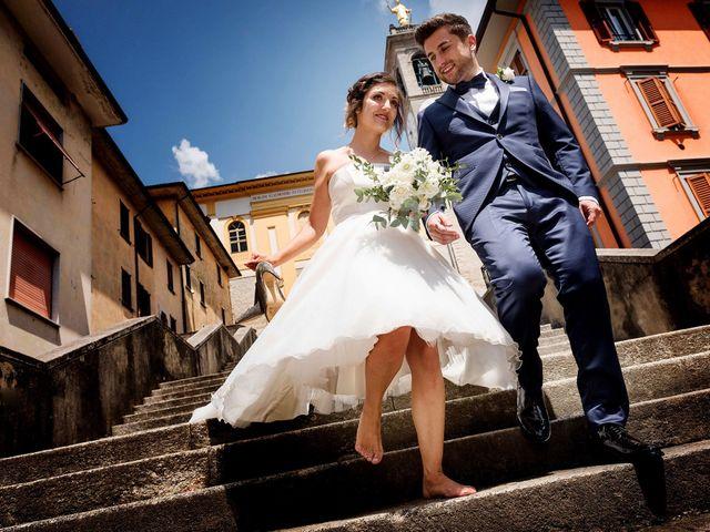 Le nozze di Stefania e Davide