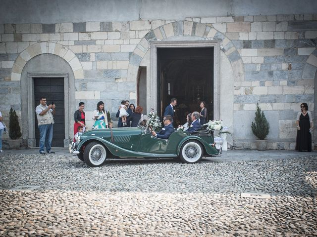 Il matrimonio di Luca e Manuela a Somma Lombardo, Varese 17