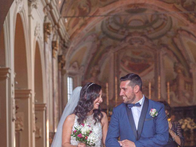 Il matrimonio di Luca e Manuela a Somma Lombardo, Varese 26