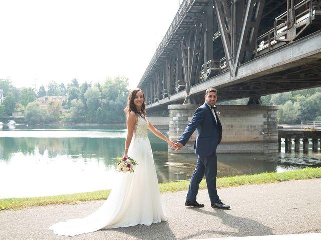 Il matrimonio di Luca e Manuela a Somma Lombardo, Varese 31