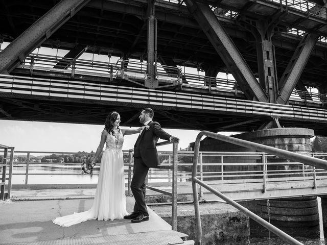 Il matrimonio di Luca e Manuela a Somma Lombardo, Varese 33
