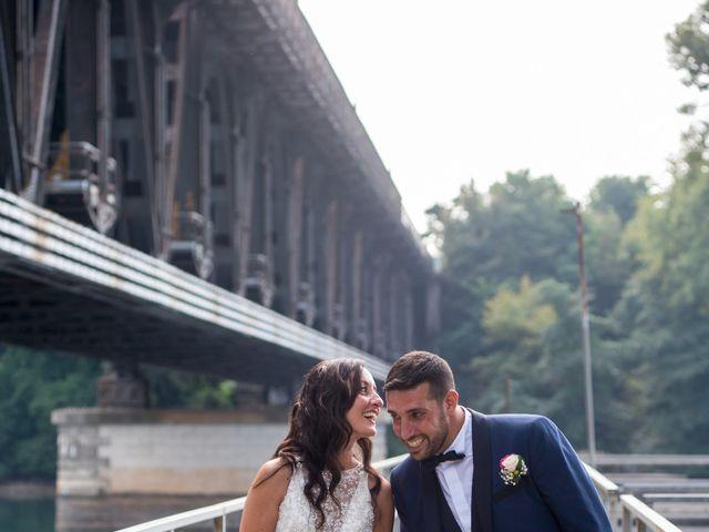 Il matrimonio di Luca e Manuela a Somma Lombardo, Varese 34