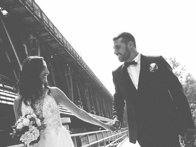 Il matrimonio di Luca e Manuela a Somma Lombardo, Varese 35