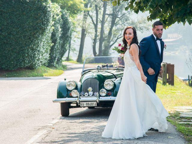 Il matrimonio di Luca e Manuela a Somma Lombardo, Varese 37