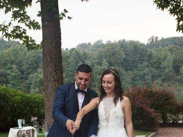 Il matrimonio di Luca e Manuela a Somma Lombardo, Varese 47