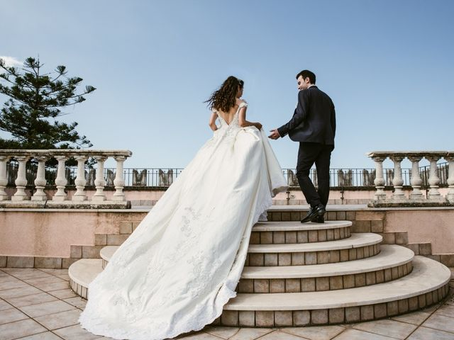 Il matrimonio di Antonio e Vittoria a Acireale, Catania 50