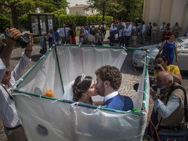Il matrimonio di Mattia e Miriana a Cessalto, Treviso 23