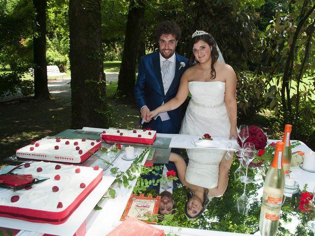 Il matrimonio di Mattia e Miriana a Cessalto, Treviso 31