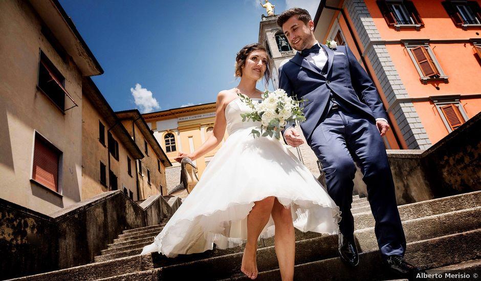 Il matrimonio di Davide e Stefania a Zogno, Bergamo