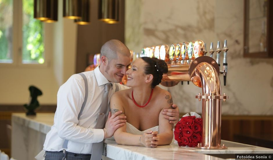 Il matrimonio di Nando e Sabrina a Induno Olona, Varese
