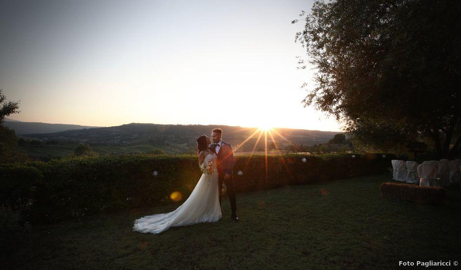 Il matrimonio di Federico e Sara a Orte, Viterbo