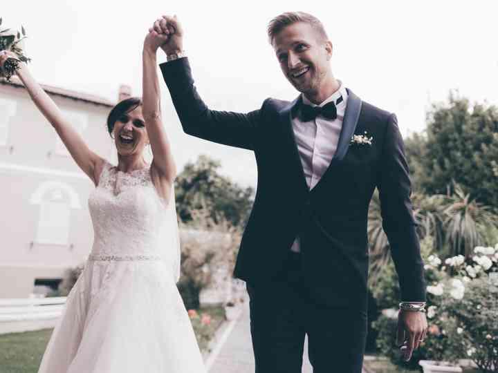 le nozze di Silvia e Christian