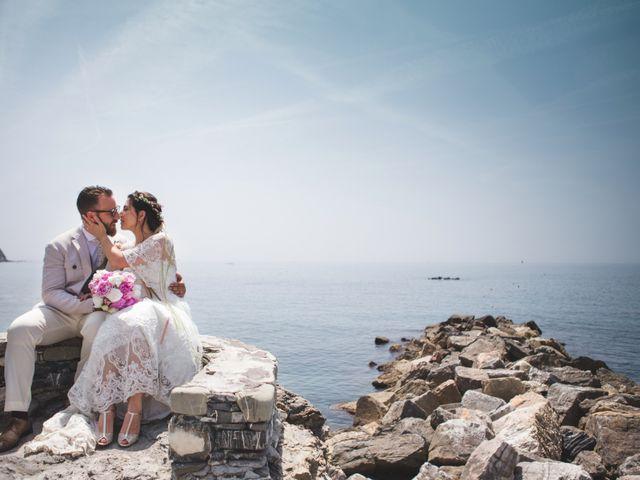 Il matrimonio di Roberto e Elisa a Moneglia, Genova 31