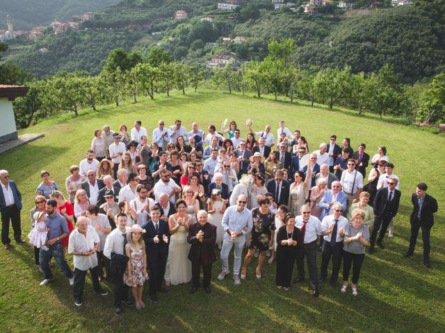 Il matrimonio di Roberto e Elisa a Moneglia, Genova 43