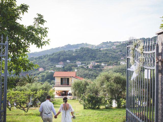 Il matrimonio di Roberto e Elisa a Moneglia, Genova 54