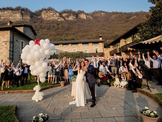 Il matrimonio di Marco e Majla a Lecco, Lecco 54