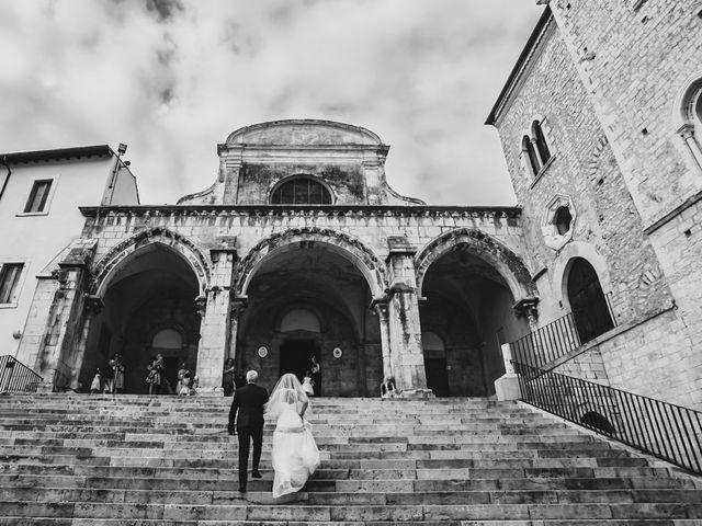 Il matrimonio di Eugenio e Valentina a Priverno, Latina 24