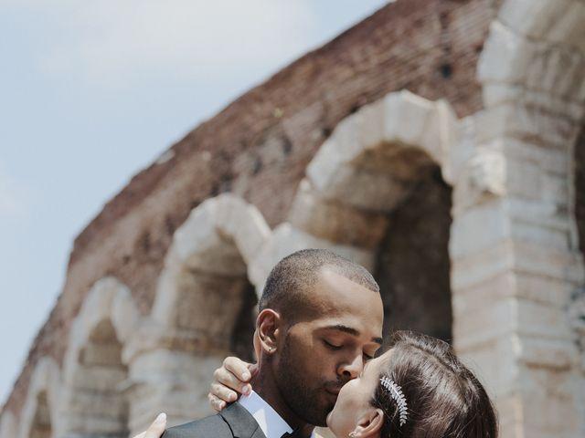 Il matrimonio di Randhal e Anna a Verona, Verona 166