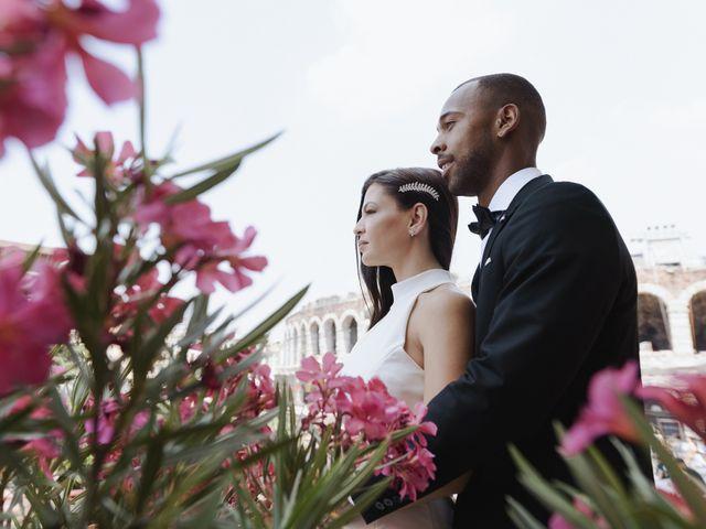 Il matrimonio di Randhal e Anna a Verona, Verona 171