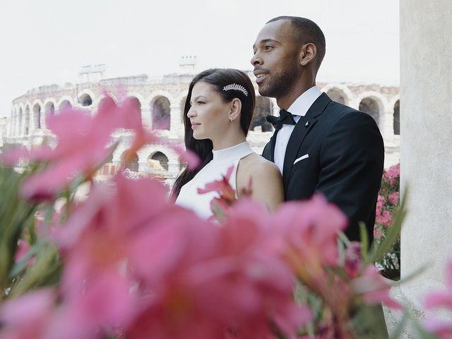 Il matrimonio di Randhal e Anna a Verona, Verona 172