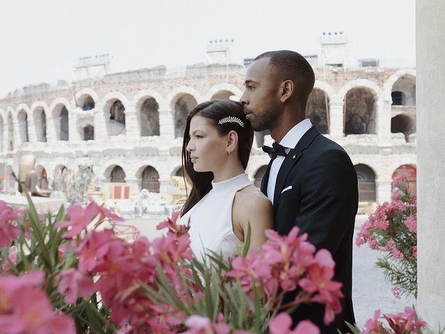 Il matrimonio di Randhal e Anna a Verona, Verona 173