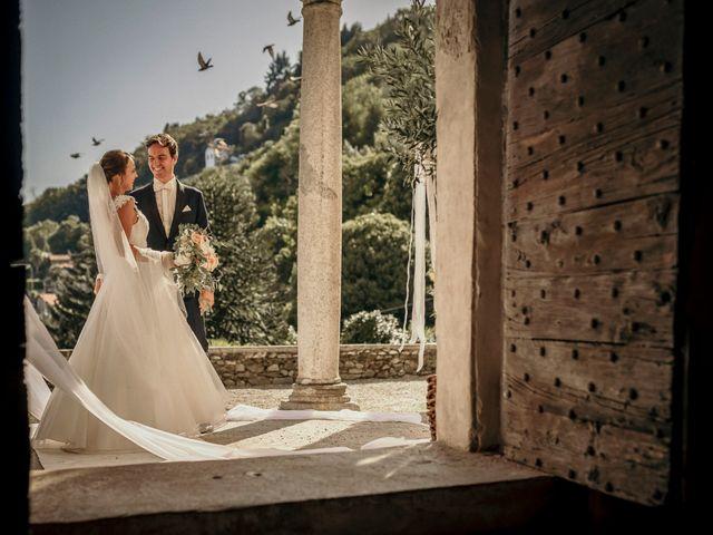 Il matrimonio di Lucas e Vanessa a Stresa, Verbania 1