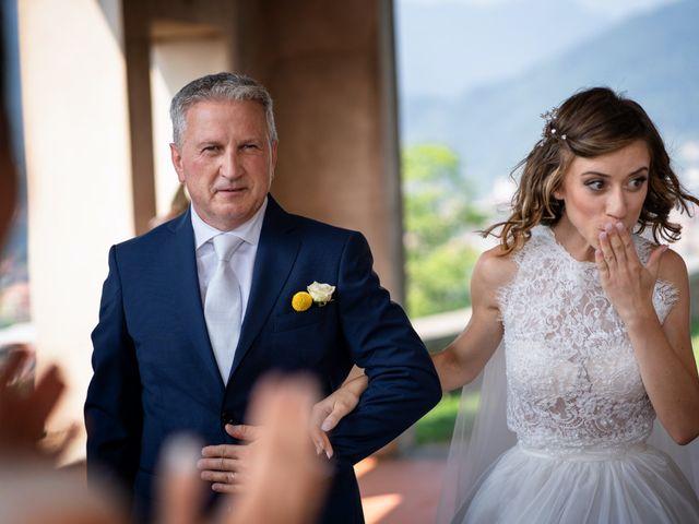 Il matrimonio di Mauro e Francesca a Scanzorosciate, Bergamo 17