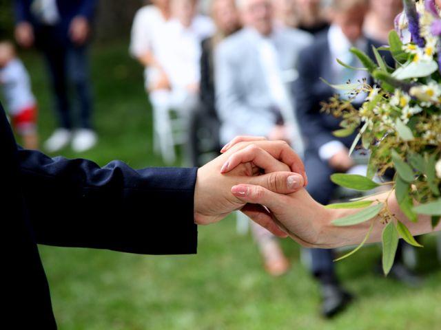 Le nozze di Luca e Maarit