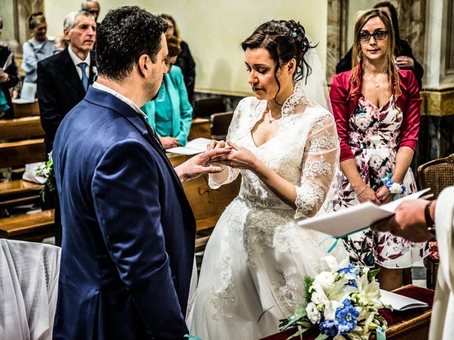 Il matrimonio di Fabio e Claudia a Cantù, Como 25