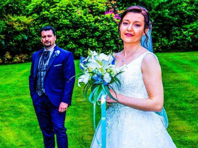 Il matrimonio di Fabio e Claudia a Cantù, Como 36