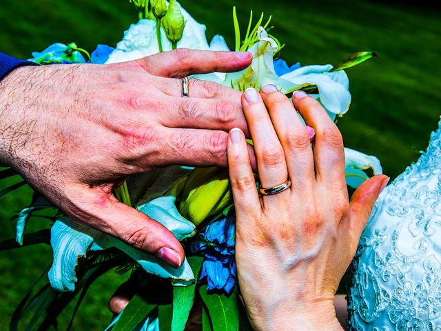 Il matrimonio di Fabio e Claudia a Cantù, Como 37