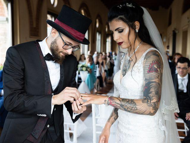 Il matrimonio di Simone e Maria Antonietta a Filago, Bergamo 31