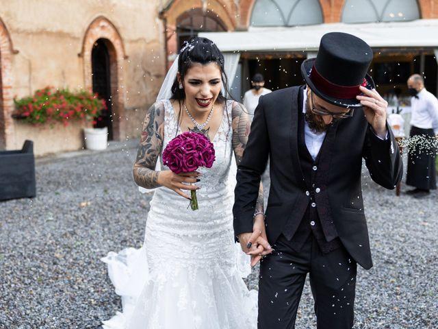 Il matrimonio di Simone e Maria Antonietta a Filago, Bergamo 34