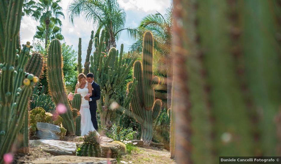 Il matrimonio di Eugenio e Valentina a Priverno, Latina
