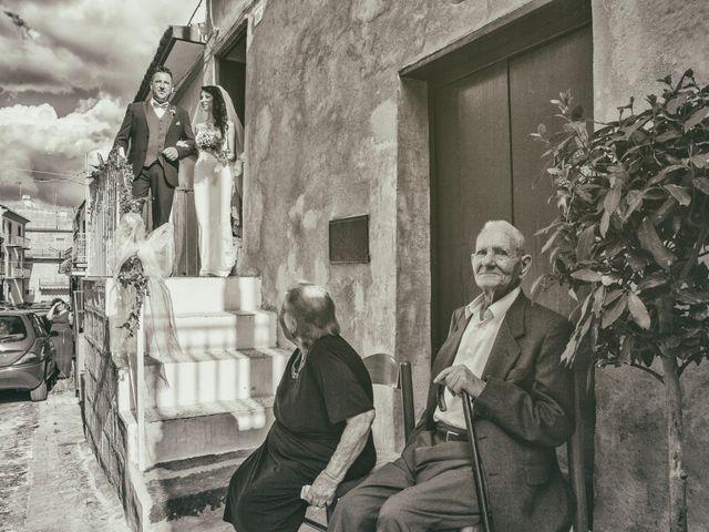 Il matrimonio di Gianluca e Mariangela a Pietraperzia, Enna 47