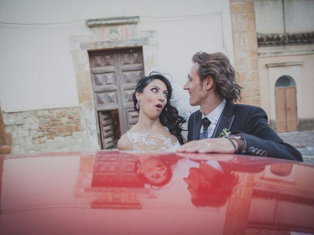 Il matrimonio di Gianluca e Mariangela a Pietraperzia, Enna 70