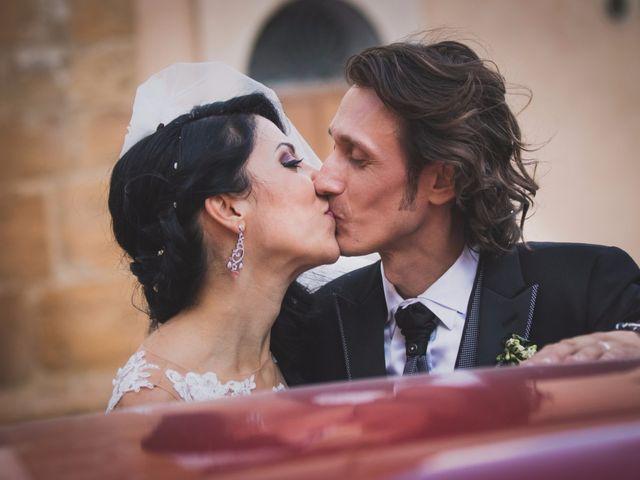 Il matrimonio di Gianluca e Mariangela a Pietraperzia, Enna 73