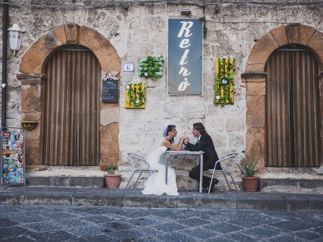 Il matrimonio di Gianluca e Mariangela a Pietraperzia, Enna 75